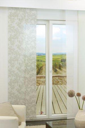 lysel schiebegardinen colour splash multicolor 60 x 245 cm falkenstein. Black Bedroom Furniture Sets. Home Design Ideas