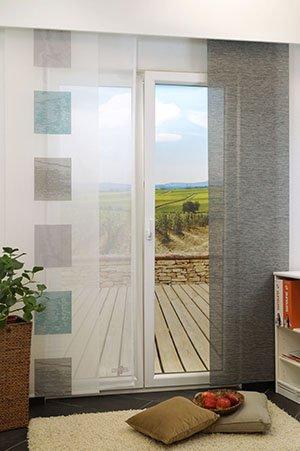schiebegardinen square. Black Bedroom Furniture Sets. Home Design Ideas