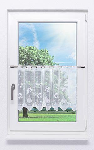 Küchengardinen - Scheibengardinen für Küchenfenster im ...