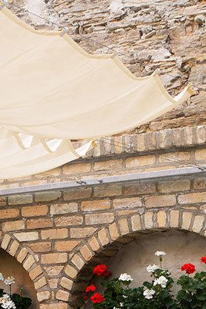 Seilspann Sonnensegel für Wintergarten & Terrasse