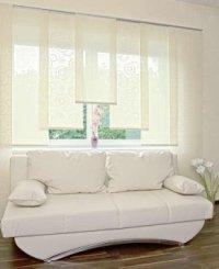 schiebevorh nge nach ma und moderne fl chengardinen in. Black Bedroom Furniture Sets. Home Design Ideas