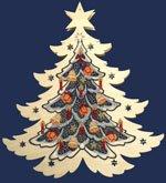 plauener spitze fensterbilder mit holz weihnachten. Black Bedroom Furniture Sets. Home Design Ideas
