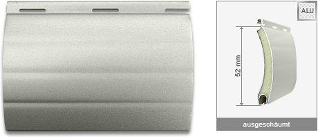 Rollladen ALU 520 Silber