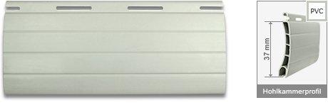 Rollladen PVC RM37 Hellgrau