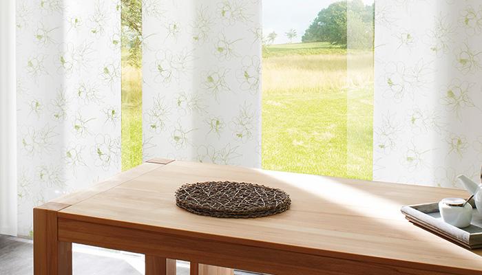 Vorhang Blickdicht Lichtdurchlässig flächenvorhang moderner sonnenschutz mit stil und nach maß