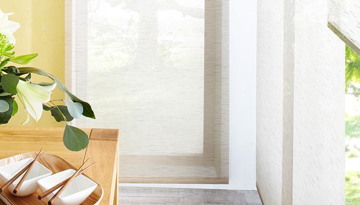 Häufig Flächenvorhang - moderner Sonnenschutz mit Stil und nach Maß RX24