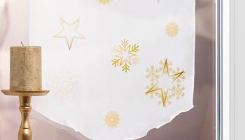 Gardinen Weihnachten.Weihnachtsgardinen Festlicher Fensterschmuck Für Ihr Zuhause