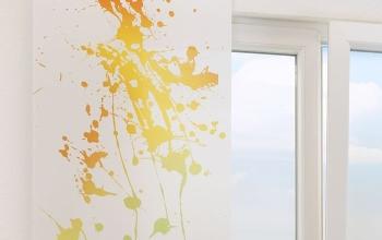 gelbe gardinen und vorh nge f r anspruchsvolle fensterdeko. Black Bedroom Furniture Sets. Home Design Ideas