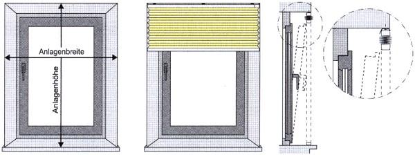 jalousien ausmessen so messen sie ihre jalousien richtig. Black Bedroom Furniture Sets. Home Design Ideas