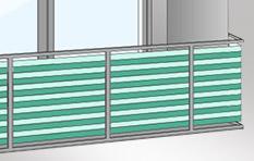 Balkon Sichtschutz Mit Balkonverkleidung Balkonumrandung Oder