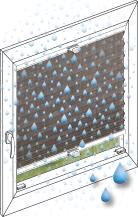 plissee f r bad sauna co perfekt f r jeden feuchtraum. Black Bedroom Furniture Sets. Home Design Ideas