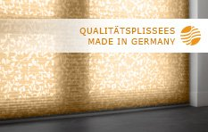 Sensuna Plissees - Qualit�t made in Germany - im Raumtextilienshop bestellen