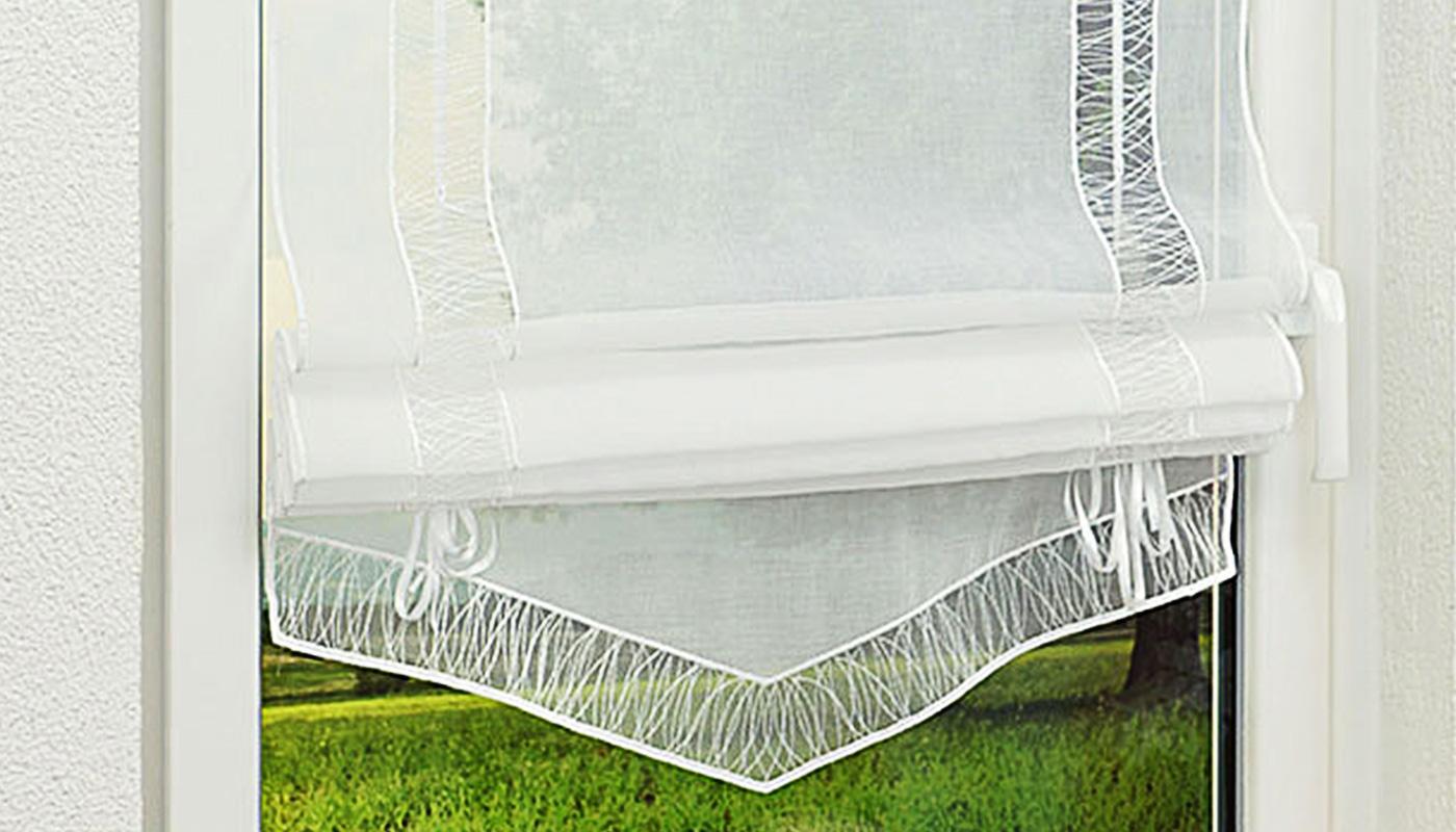 raffrollo nach ma raffrollos im raumtextilienshop. Black Bedroom Furniture Sets. Home Design Ideas