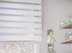 Fensterdeko im Schlafzimmer