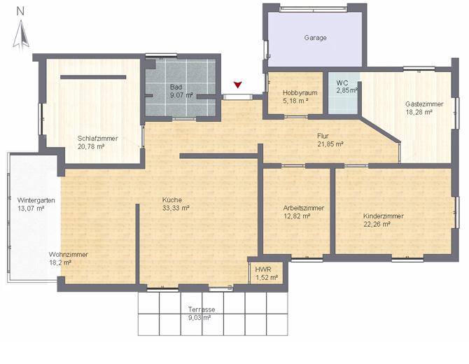 Raumgestaltung Wohnungseinrichtung
