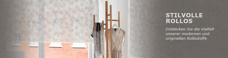 rollostoffe in allen farben. Black Bedroom Furniture Sets. Home Design Ideas