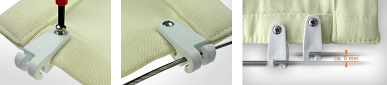 Neu werden neuartiger Stil Original wählen Messanleitung für Seilspannsegel und Outdoorplissees von ...