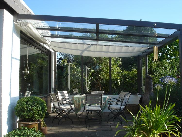 sonnensegel wintergarten, sonnensegel wintergarten, 380 cm länge - raumtextilienshop, Design ideen