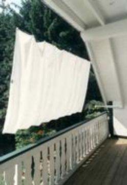 sonnenschutz und sichtschutz f r ihren balkon balkon loggiatyp. Black Bedroom Furniture Sets. Home Design Ideas