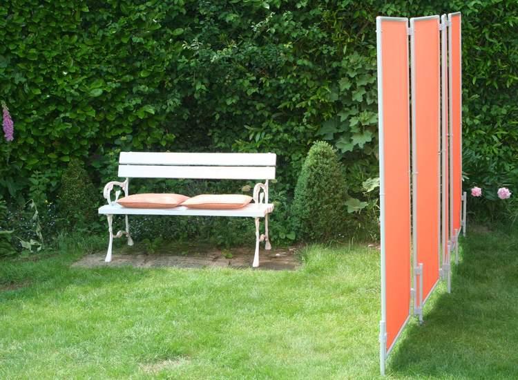 planungshilfen für die aufstellung von paravent im garten, Garten und Bauen