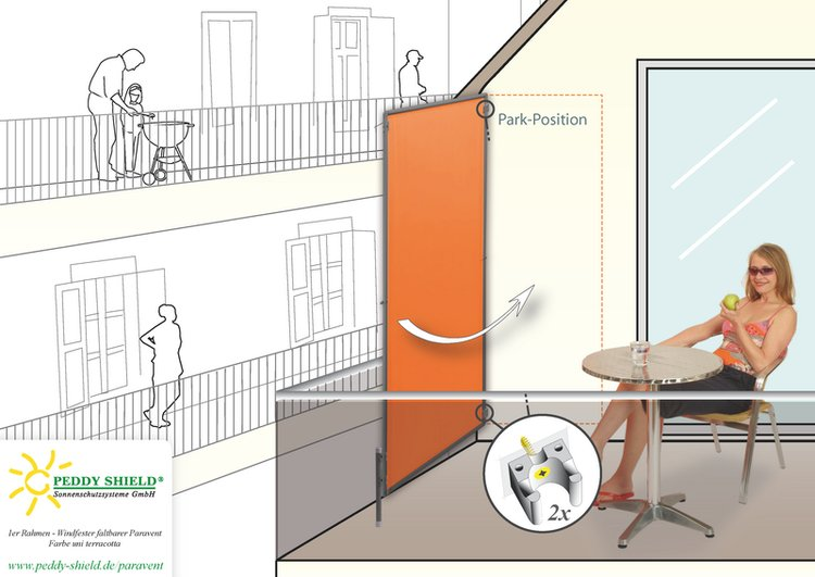 planungshilfen f r paravent sichtschutz dachterrasse. Black Bedroom Furniture Sets. Home Design Ideas