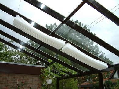 Planungshilfen F R Sonnenschutz Unterm Glasdach