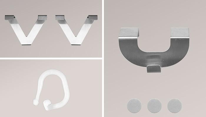 fensterhaken f r gardinen hcvc. Black Bedroom Furniture Sets. Home Design Ideas